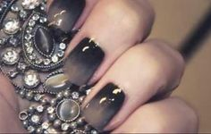 Love the grey ombre on these! NAIL COLOR FALL/WINTER 2013