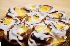 Fyll til prinsessekake av gjærdeig Norwegian Food, Mashed Potatoes, Cake Recipes, Sweet Tooth, Pudding, Goodies, Baking, Ethnic Recipes, Desserts