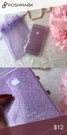 Purple Sparkle IPhone 6 case! Brand new. Accessories