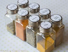 How to create labels for spice jars in Photoshop (English screens, template included) Как сделать этикетки в Фотошопе