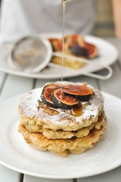 Apple and Greek Yogurt Pancakes