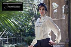 H&M white shirt camicia traforata H&M