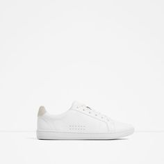 ZARA - WOMAN - PLIMSOLLS WITH LACES