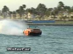 Amphibious Vehicle - WaterCar's Python Edition Going Fast Bus Engine, Strange Cars, Amphibious Vehicle, Luxury Rv, Cool Boats, Mans World, Python, Cars And Motorcycles, Offroad