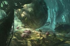 The wonderful worlds of Thom Tenery: Blizzard, Star Wars, Tron, Oblivion, Concept Artist and Art Director  -  Concept Art - Thom Tenery, Based in Los Angeles California produces concept design, visual development and illustration in the entertainment industries. Thom's ed...