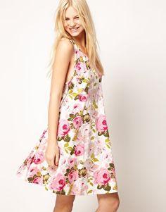 Enlarge ASOS Swing Summer Dress in Floral Print