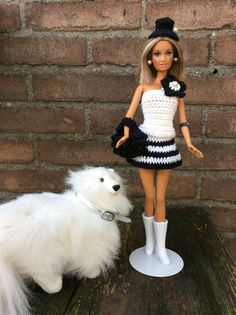 Crochet outfit for Barbie Handmade by Patricia Zanoni