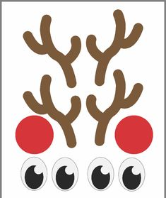 Stick these free printables on your Christmas presents for a fun Christmas gift wrapping idea! Simply wrap your presents in brown paper and stick on the eyes, nose and antlers to make it look like a reindeer! Preschool Christmas, Christmas Activities, Christmas Crafts For Kids, Homemade Christmas, Diy Christmas Gifts, Christmas Traditions, Christmas Projects, Holiday Crafts, Christmas Decorations