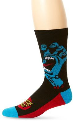 Stance Screaming Hand Socks - Black