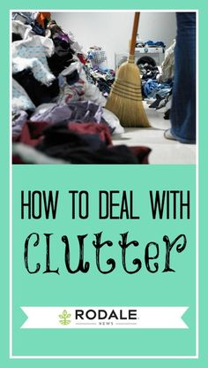 Tips from Peter Walsh on how to deal with the biggest clutter culprits in your home.