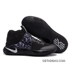 4adeec86c501 Nike Kyrie 2 Black Camouflage Basketball Shoes Top Deals