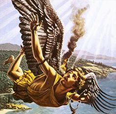 Roger Payne - Icarus, son of Daedalus. Tags: icarus, ikaros, daedalus, daidalos,