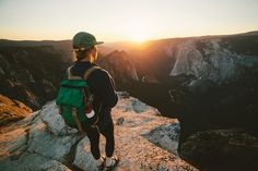 "topo-designs: ""Incredible photo of our Rover Pack taking in the Yosemite Sunset. Topo Designs Rover Pack joelbearstudios """