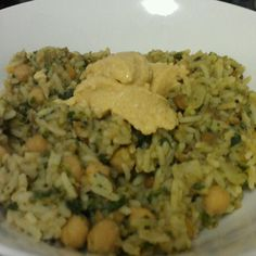Rice THING! It's #VEGAN! This dish costs about 8-10 dollars to make, depending on which lentils and chickpeas you buy.   That price isn't for one plate, it's for the whole thing! (Which makes about 4 big serves).