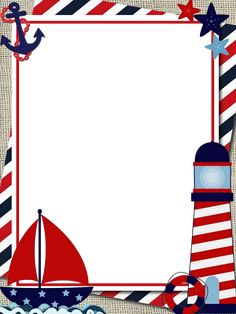 Sailor Birthday, Sailor Party, Boy Birthday, Nautical Photo Booth, Nautical Party, Free Printable Stationery, Printable Scrapbook Paper, Ideas Decoracion Cumpleaños, Baby Shower Cupcakes For Boy