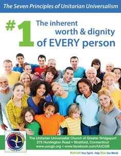 First principle of Unitarian Universalism
