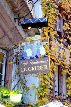 Cafe Restaurant Altstadt Straßburg Le Gruber