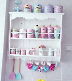 Kitchen Colors Vintage Shabby Chic Ideas For 2019 Pastel Decor, Pastel Kitchen Decor, Retro Home Decor, Kitchen Colors, Kitchen Art, Kitchen Backsplash, Ikea Kitchen, Kitchen Ideas, Kitchen Design