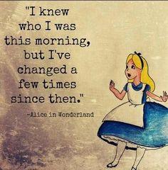 Alice in wonderland quote. Alice in wonderland quote . Movie Quotes, Funny Quotes, Great Quotes, Inspirational Quotes, Quotes On Art, Quotes Quotes, Super Quotes, Wisdom Quotes, Motivational Quotes