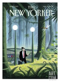 The New Yorker Cover - August 5, 2002 Regular Giclee Print