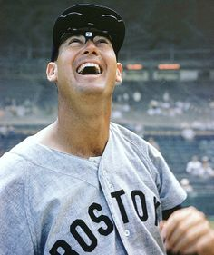Ted Williams, Boston Red Sox..  Best hitter of all time?  Remember he was in the military for a few years during his prime>>  protectivegel.info