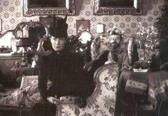 Maria Feodorovna and her son Tsar Nicholas II