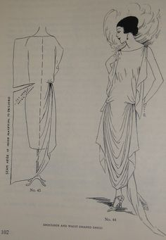 1920s ABC in Dressmaking 20s Beginners Design Great Gatsby Downton Abbey. $14.95, via Etsy.