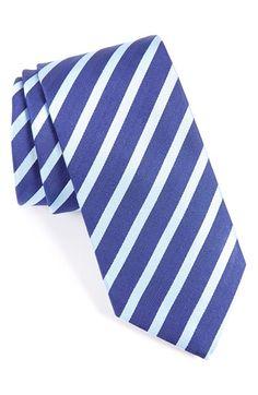 Eton Stripe & Silk Tie available at #Nordstrom