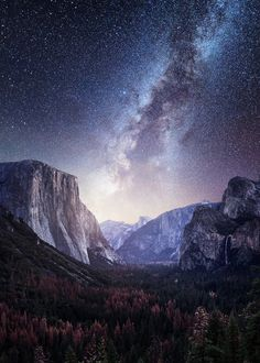 Yosemite Valley Milky Way – Mads Peter Iversen on Fstoppers – Galaxy Art Milky Way Photography, Camping Photography, Landscape Photography, Nature Photography, Photography Guide, Parc National, Yosemite National Park, National Parks, Matthieu Venot