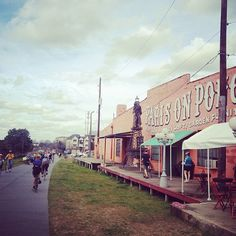 What a lovely day to walk the Beltline to Paris on Ponce! Atlanta crazy place CrazyATLanta.com @TheCrazyCities