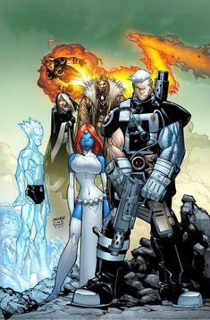 X-men characters by Humberto Ramos