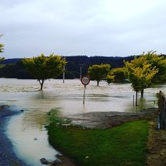 Waikaia in flood
