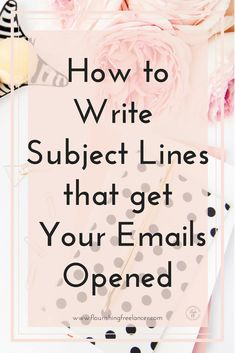 How to Write an Over-the-Top Subject Line that gets Your Email Opened - Email List Marketing Tips - Ideas of Email List Marketing Tips - Subject Lines that Get Your Emails Opened E-mail Marketing, Email Marketing Design, Email Marketing Campaign, Email Marketing Strategy, Email Design, Marketing Digital, Content Marketing, Business Marketing, Online Marketing