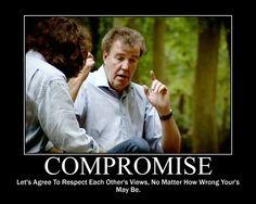 Top Gear's idea of compromise
