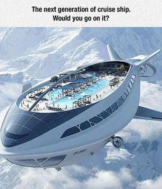 Flying Cruise Ship