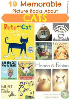 15 Memorable Picture Books about Cats | The Jenny Evolution