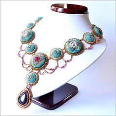 #Mab, #Miranda , #Earrings, #necklace, #bracelet , #TrinketStudio, #Beading, #Swarovski, #peyot , #geometrical, Polandhandmade.pl , #Polandhandmade , #beadedbeads , #beaded, #beads