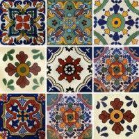 Mixed Set 4 Brick Look Tile, Concrete Look Tile, Marble Look Tile, Mediterranean Tile, Unique Tile, Traditional Tile, Feature Tiles, Mexican Designs, Tiles Texture
