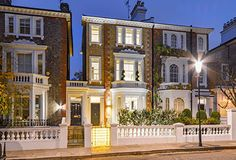 The top 10 grandest London terraced houses around right now