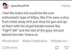 VERY TRUE<<< god, I love Killjoy headcannons<< i feel like this would be so true Emo Band Memes, Mcr Memes, Emo Bands, Music Bands, Music Stuff, My Music, Mikey Way, Killjoys, Frank Iero