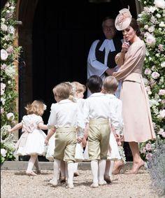 The Wedding Party Carole Middleton, Pippa Middleton Boda, Middleton Family, Pippa Middleton Bridesmaid, James Middleton, Princesa Charlotte, Princesa Eugenie, Pippas Wedding, Wedding Ceremony