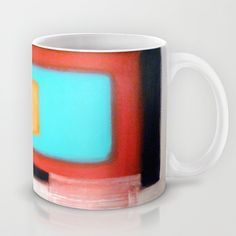 Buy Living Rothko by Heaven7 as a high quality# Mug. Worldwide shipping available at Society6.com. Just one of millions of products available. #acrylic #painting #heaven7 #fineart #abstract