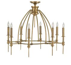 Adeline Chandelier design by Currey & Company - From The Home Decor Discovery Community at www.DecoandBloom.com