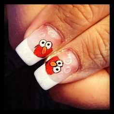 Pin By Camila Quintero Arias On Nails Pinterest Elmo