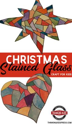 Christmas stained glass art is the perfect way for your family to celebrate the coming of Jesus. This Christmas craft for kids is fun and easy! Bible Crafts For Kids, Projects For Kids, Art For Kids, Christmas Activities, Christmas Crafts For Kids, Preschool Activities, Stained Glass Christmas, Stained Glass Art, Homeschool Curriculum