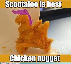 Scootaloo Fried Chicken