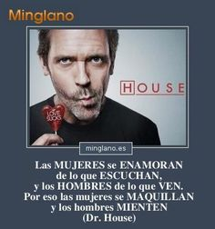 Que sad :''v I Love House, House Md, Funny Phrases, Love Phrases, True Quotes, Funny Quotes, Sarcastic Words, Gregory House, Live Love Life