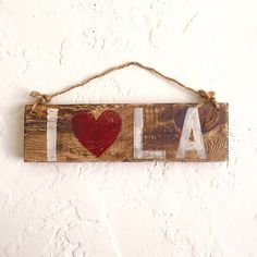 I Heart L.A. Sign / I Love L.A. Sign / Los por HollyWoodTwine