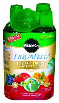 Miracle-Gro 100440 LiquaFeed Tomato, Fruits and Vegetables Plant Food Refill Bottles, 2-Pack --- http://www.amazon.com/Miracle-Gro-100440-LiquaFeed-Vegetables-Bottles/dp/B006MVLAKK/ref=sr_1_27/?tag=affpicntip-20