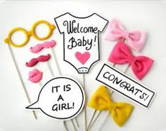 free printable baby shower photo booth - Google Search
